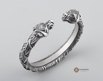 Celtic Bear Ring Etsy
