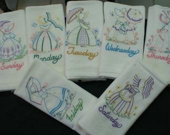 Umbrella Girls Days of the Week
