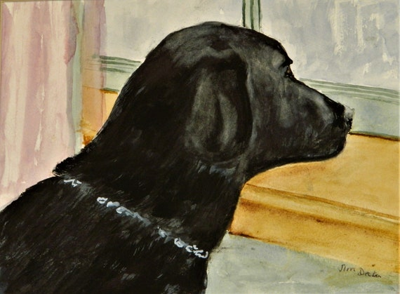 BLACK LAB Pet Portraits, Take Me Please, Jim Decker