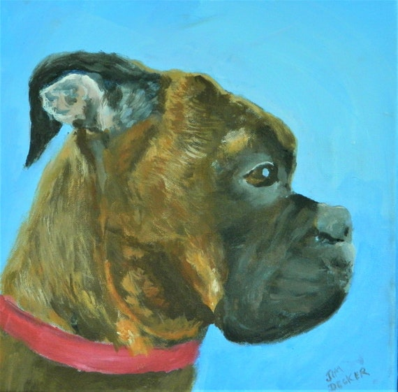 PET PAINTING  Boxer