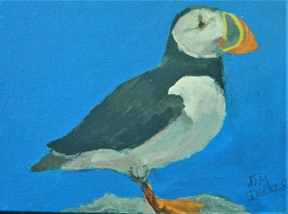 Puffin , Sea Bird, Colorful Bird