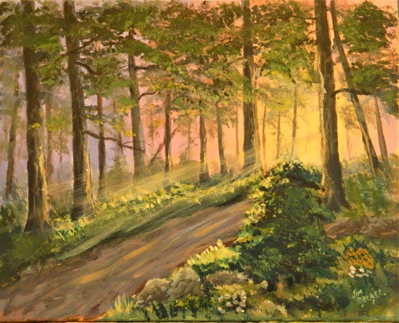 Sun Light Forest  {  I See The Light } Jim Decker