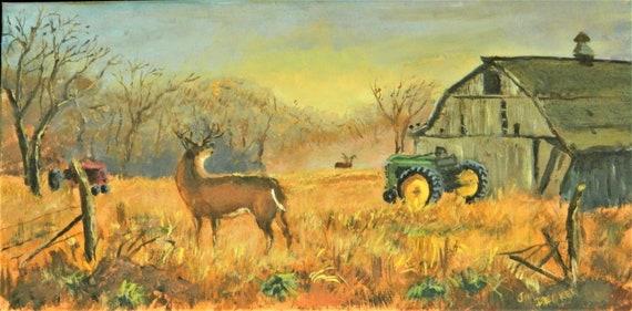 FARM PAINTING  { Down On The Farm  }