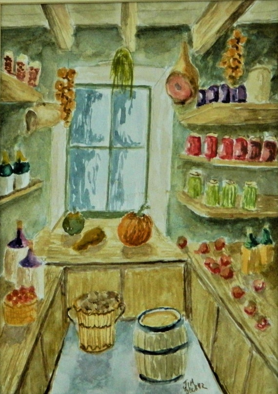 The Pantry  Painting