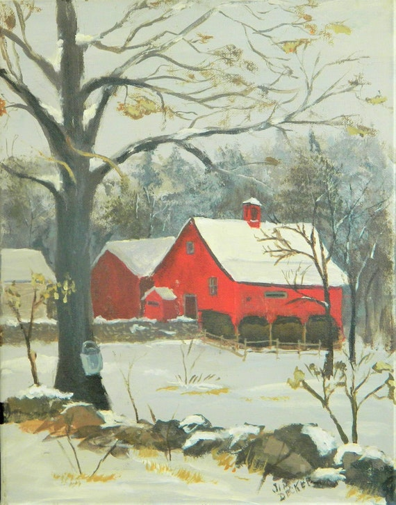 Spring Time In New England Maine Painting