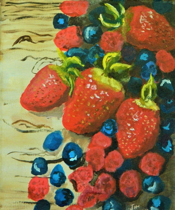 BERRIES, Strawberries, Blueberries