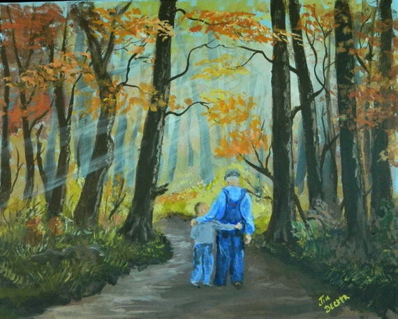 GRANDFATHER PAINTING  { This Is The Way }