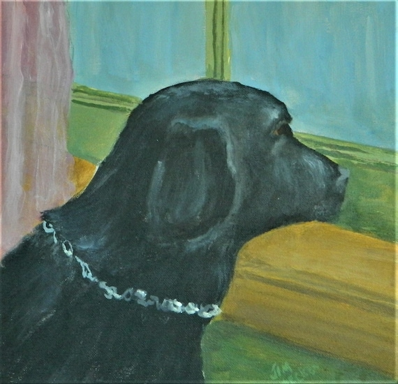 PET PORTRAIT Black Lab