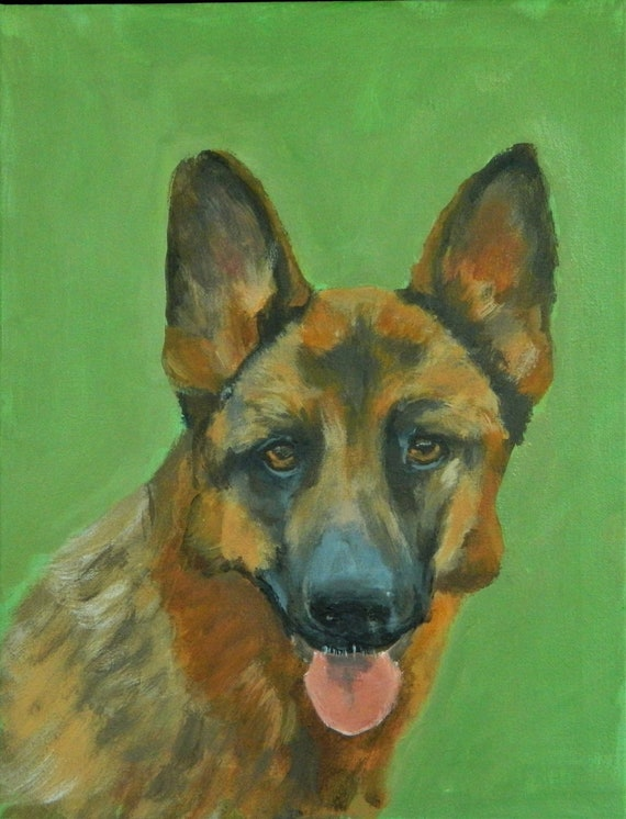 PET PORTRAIT  German Shepard