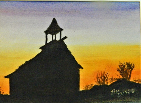 SUNSET Country Church  Jim Decker