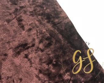 LIME GREEN Crushed Velvet Fabric  Sheet 8 x 12 - Velvet Fabric  Sheet