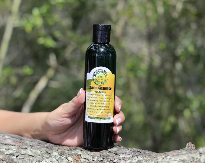 Lemon Shampoo, Lemon Oil Shampoo, 100% Natural, Handmade Soap, Natural Soap, Lemon, Handcrafted, Soap, Shampoo