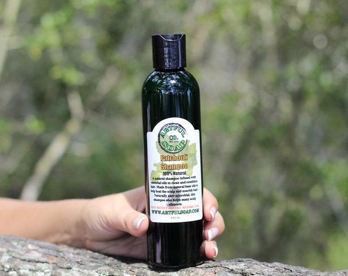 Patchouli Shampoo, Patchouli  Oil Shampoo, 100% Natural, Handmade Soap, Natural Soap, Patchouli, Natural, Handcrafted, Soap, Shampoo