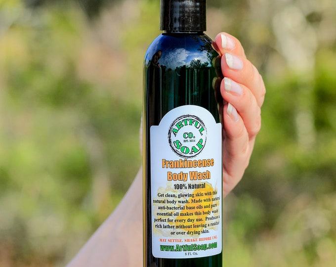 Frankincense Body Wash, 100% Natural, Natural Body Wash, Frankincense, Natural Frankincense, Natural, Soap, Natural Soap, Pure.