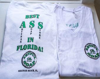 Artful Soap Co Shirt. Best ASS (Artisan Soap Store) in Florida!