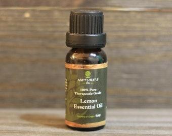 Lemon Essential Oil.