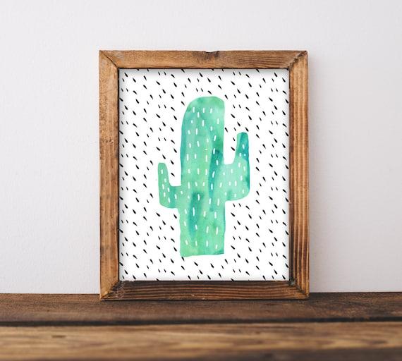 Neutral office decor Wall Image Etsy Cactus Wall Art Nursery Printable Gender Neutral Southwestern Etsy