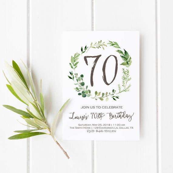 60th Birthday Invitation Surprise Bday Invite Printable