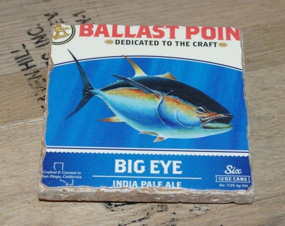 UPcycled Coaster - Ballast Point - Big Eye