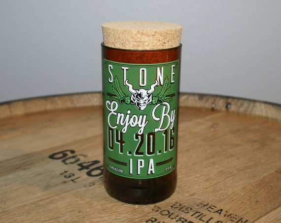 UPcycled Stash Jar - Stone Brewing Co. - Enjoy By 04.20.16 IPA