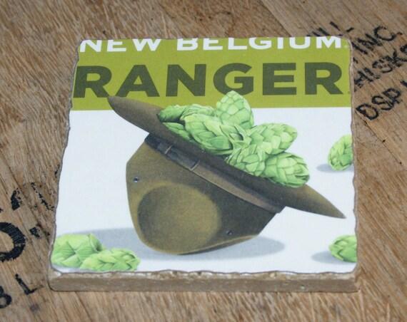 UPcycled Coaster - New Belgium - Ranger