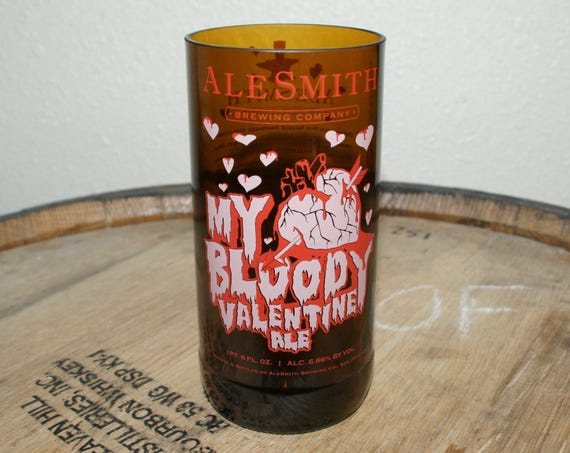 UPcycled Pint Glass - Alesmith - My Bloody Valentine