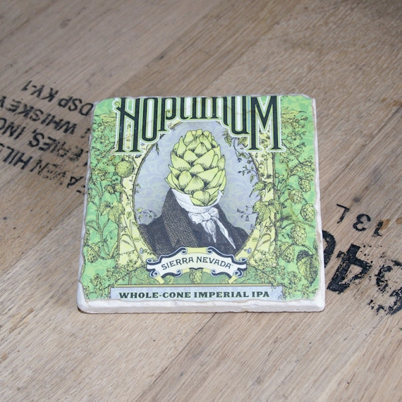 UPcycled Coaster - Sierra Nevada - Hoptimum Double IPA
