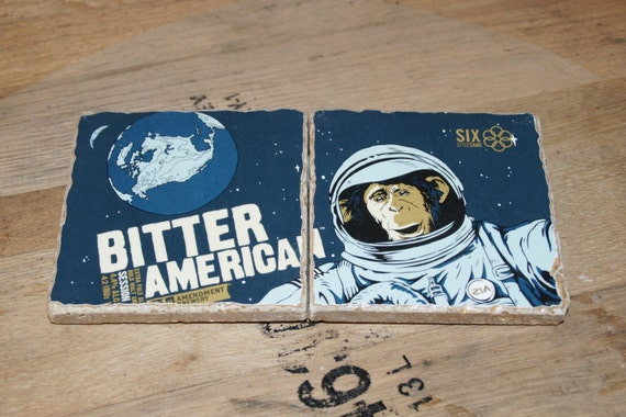 UPcycled Coaster (set of 2) - 21st Amendment - Bitter American