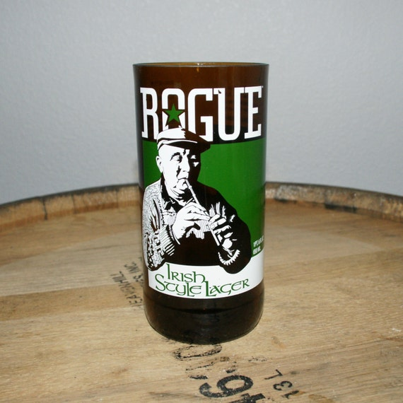 UPcycled Pint Glass - Rogue Ales - Irish Style Lager