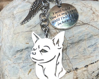 dog jewellery pet loss key chain pet keepsake rainbow bridge gift Rhodesian Ridgeback dog pet memorial keychain dog bag charm