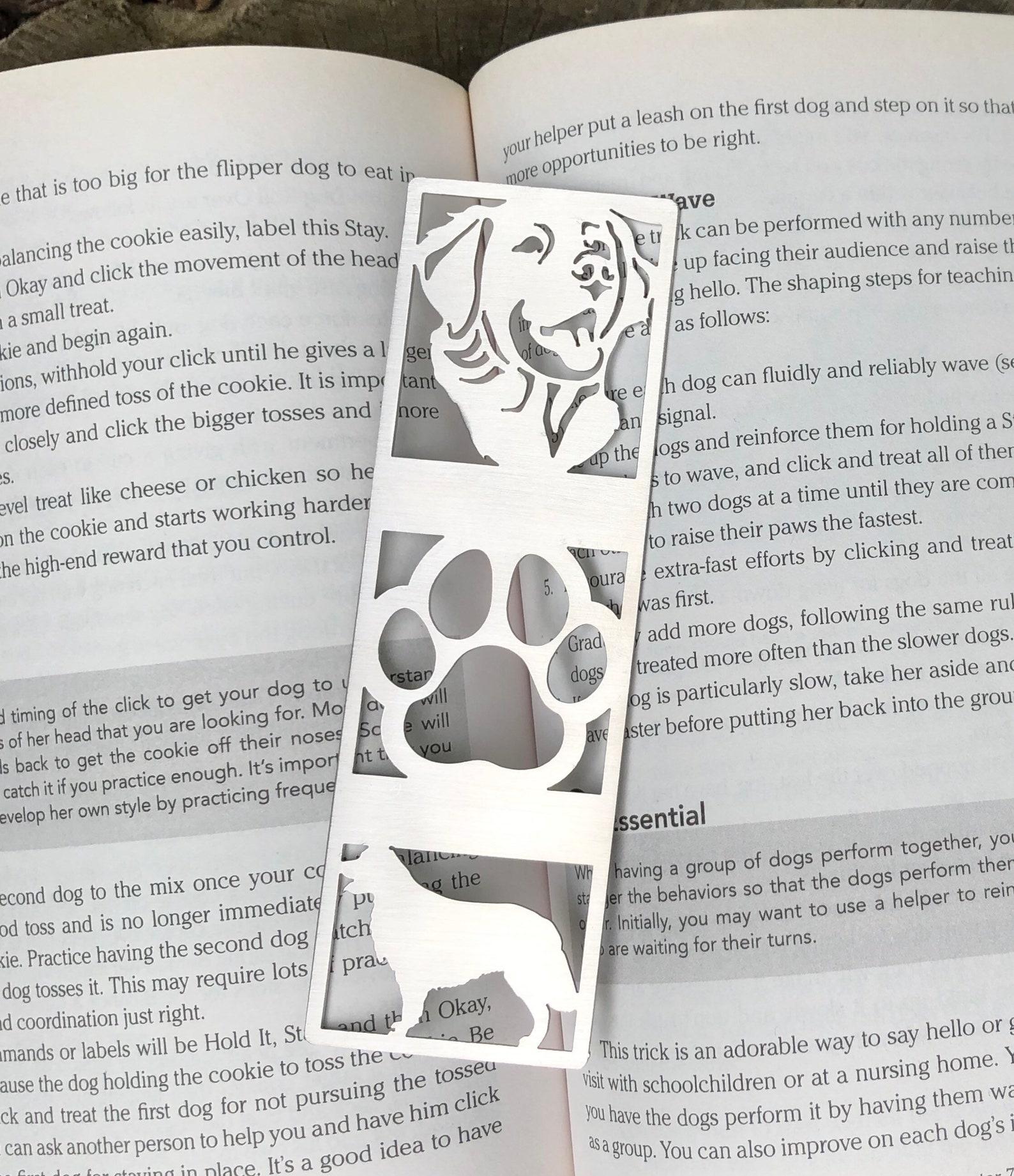 Golden Retriever Bookmark