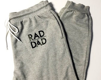 dc34cc04 Rad dad sweats,rad dad pajamas,dad pajama pants,dad christmas gift, men's  Christmas gift,men's sweats, new dad gift