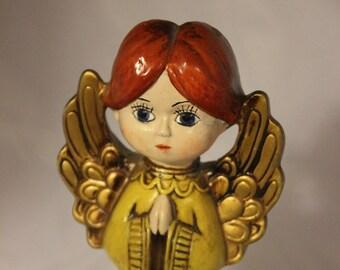 Vintage Midcentury Japanese Parma by AAI Praying Angel Figurine