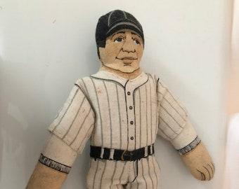 87b34f010c4 Hallmark Babe Ruth cloth doll
