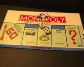 Vintage Monopoly Game, 1996, Hasbro