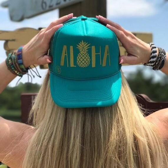 Aloha Hat 7016  Trucker Hats by Hippie Runner  Snapback  a2c2ac2bbcc