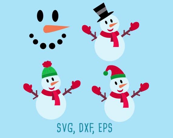 Schneemann Svg Dxf Schneemann Schneemann Eps Gesicht Schneemann Svg Weihnachts Svg Weihnachten Dxf Weihnachten Eps Schablonen Schneemann