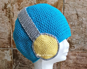 Crochet Beanie with Headphone