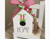 Elf Decal for Birdhouse