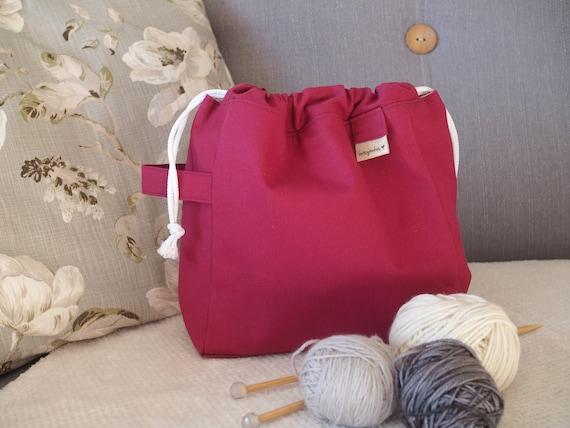 The Stalwart Bag in Raspberry