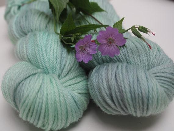 Perfect Sweater DK Weight Superwash Merino Yarn - Grey Mint