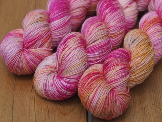 Girls Just Wanna Have Fun Perfect Sock Merino Nylon Fingering Weight Yarn