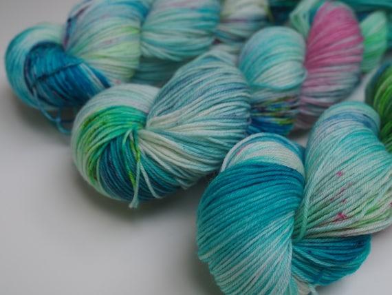 Aegean Sea Perfect Sock Merino Nylon Fingering Weight Yarn