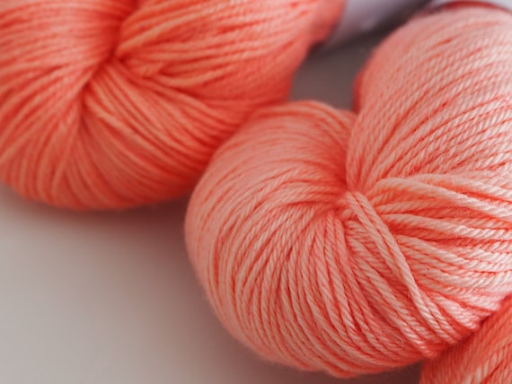 Little Smile Sunset Silk Merino Blend Fingering Weight Yarn