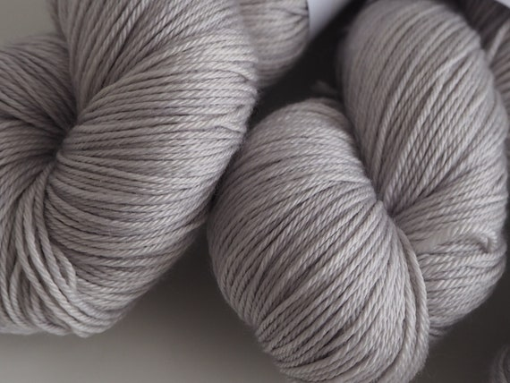 Little Smile Misty Morning Silk Merino Blend Fingering Weight Yarn