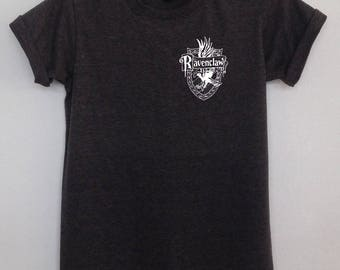 Ravenclaw quidditch tshirt pocket tee clothing harry potter graphic shirt