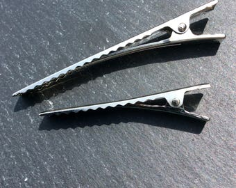 Alligator Clips, Alligator Clips with Teeth, Hair Clips, 3 inch Hair Clips, 2 inch hair clip
