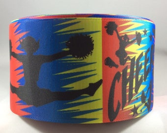 Cheer Ribbon, Cheerleader Ribbon, 3 inch Grosgrain Ribbon, Cheer Bow Ribbon, Cheer Bow, Grosgrain Ribbon