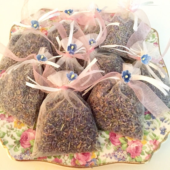 bridal showers for weddings baby showers Organic lavender sachets 40 for $40