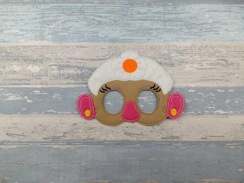 Felt Face Mask Hedgehog Mask Story Time Mask Prickly Hedgehog Costume Mask Halloween Birthday Party Favours